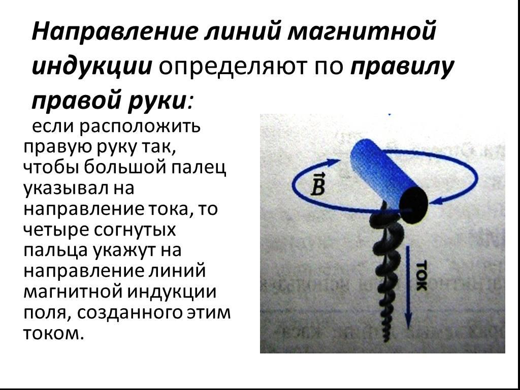 Линии магнитной индукции