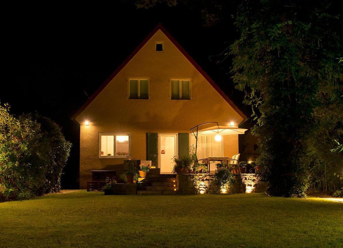 Фасадные светодиодные светильники – элемент подсветки зданий