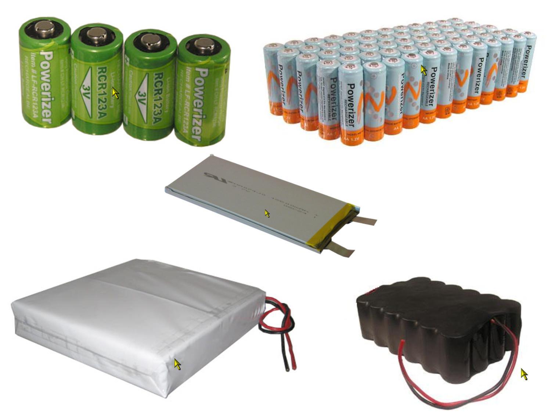 Разнообразие видов аккумуляторов