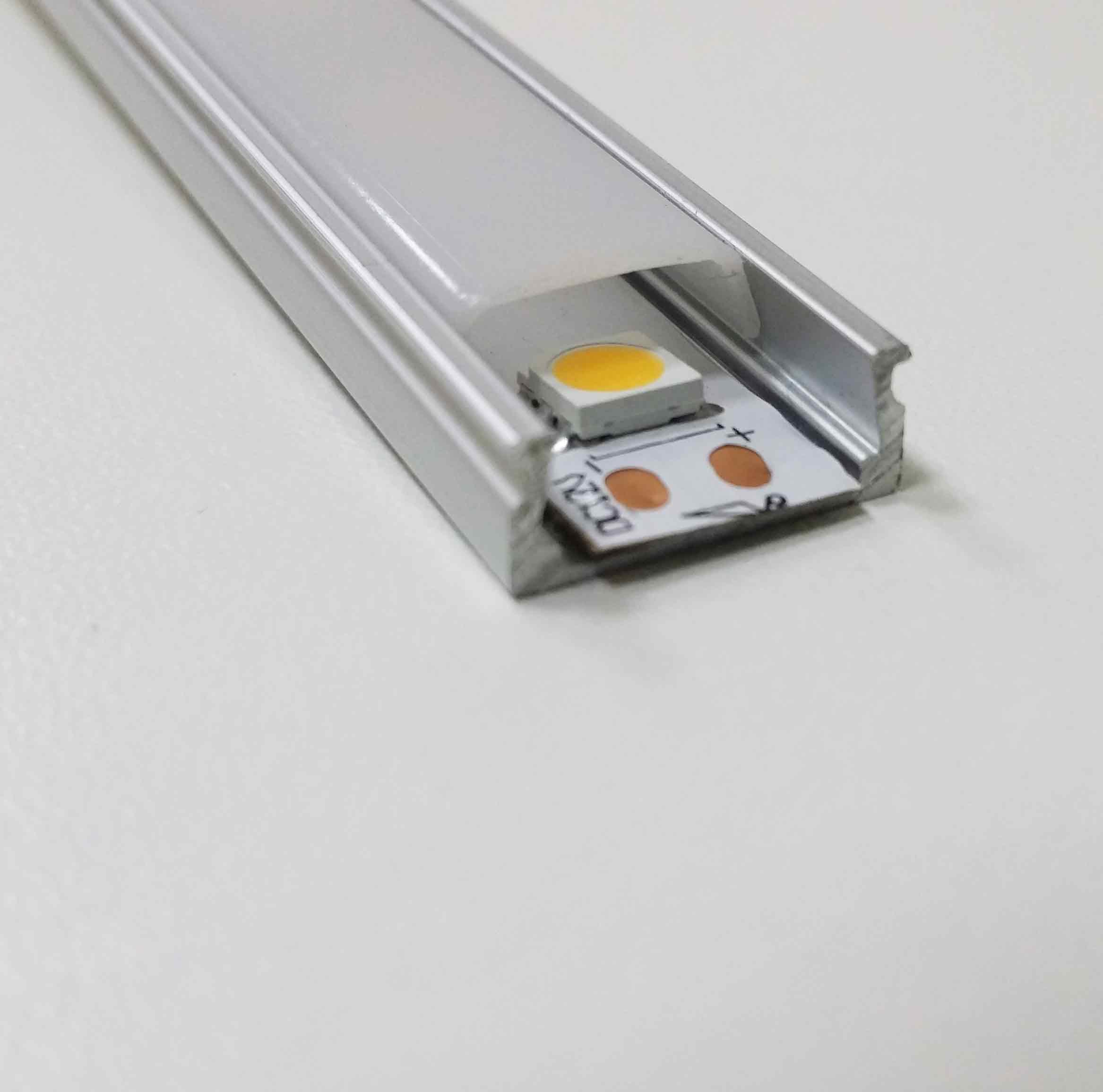 Какие бывают профили для светодиодных лент?
