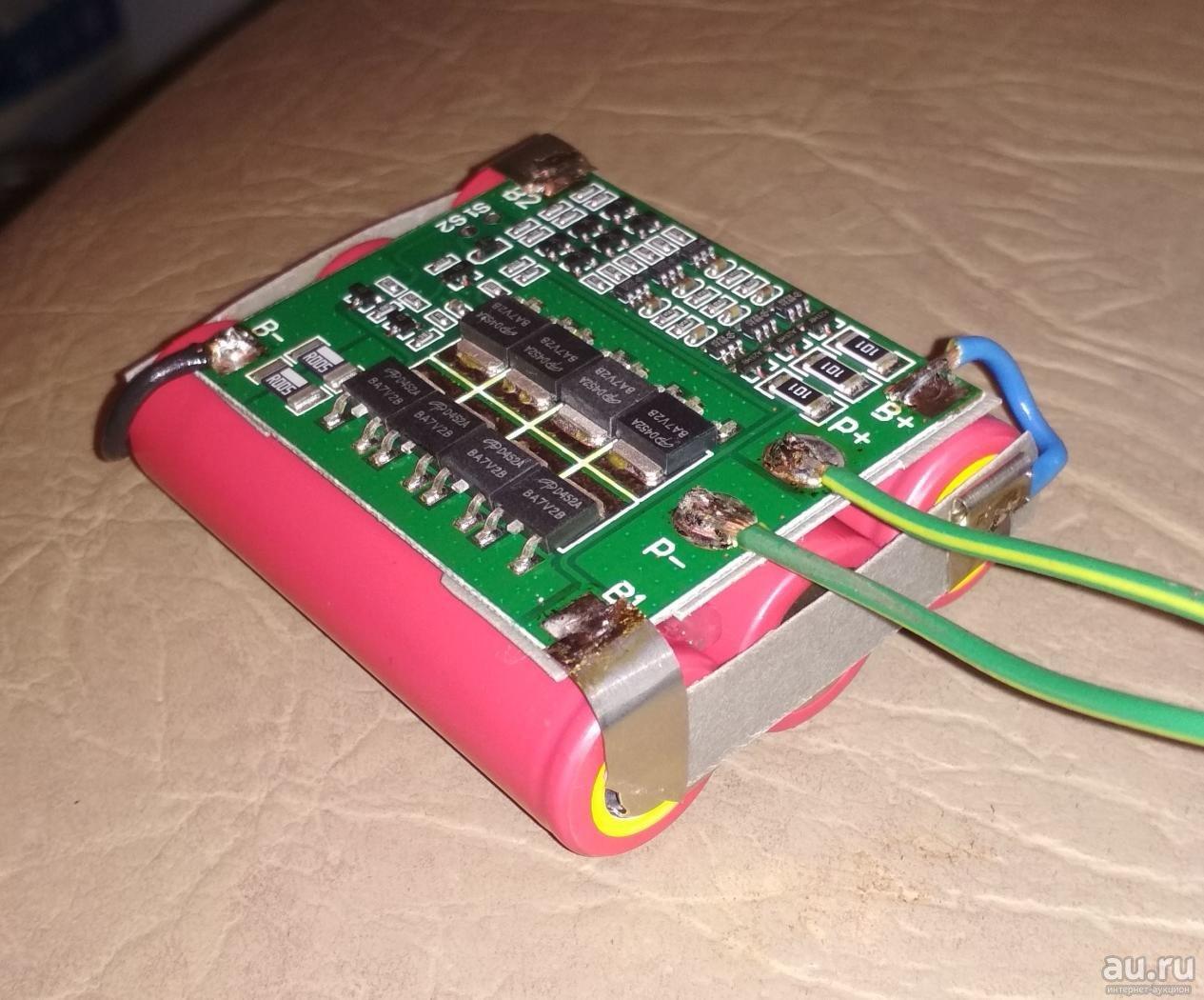 Переделка шуруповерта на литиевые аккумуляторы