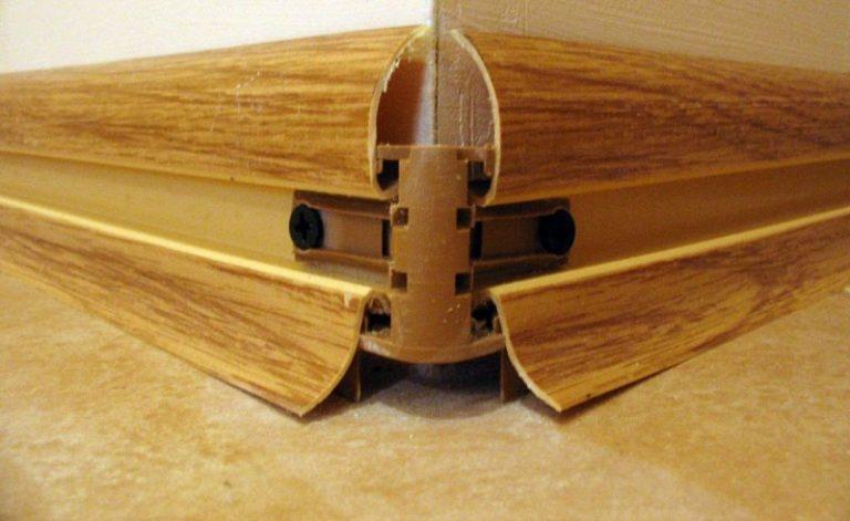 Как установить потолочный плинтус, видео и фото инструкции