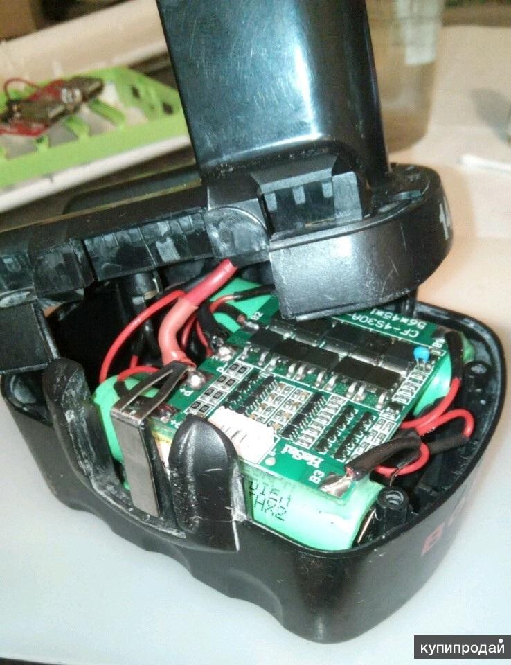 Переделка аккумулятора шуруповёрта на li-ion