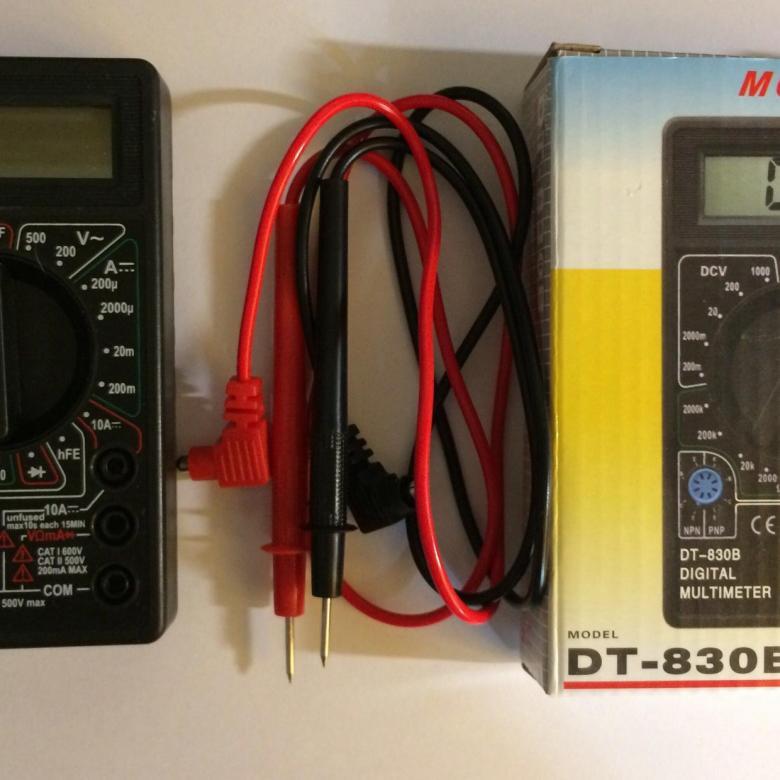 Как пользоватьсямультиметром – инструкция для начинающих
