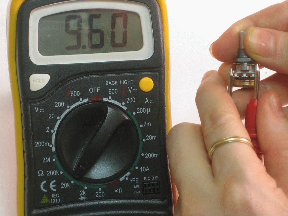 Способы прозвонки деталей платы мультиметром