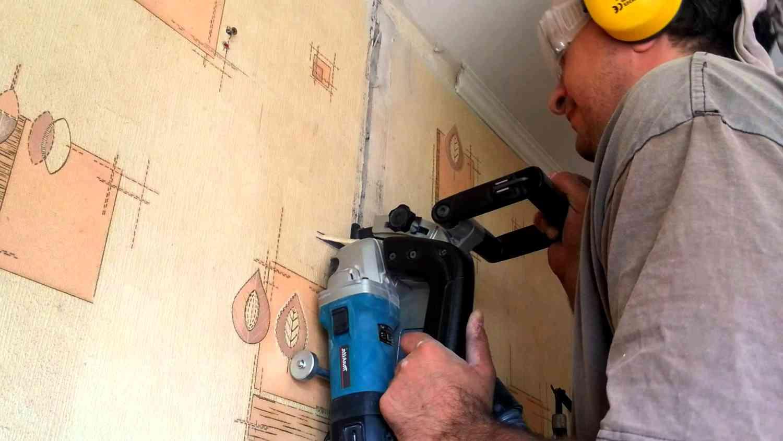 Штроборез – для аккуратных борозд в стене!