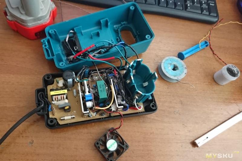 Зарядное литиевых аккумуляторов