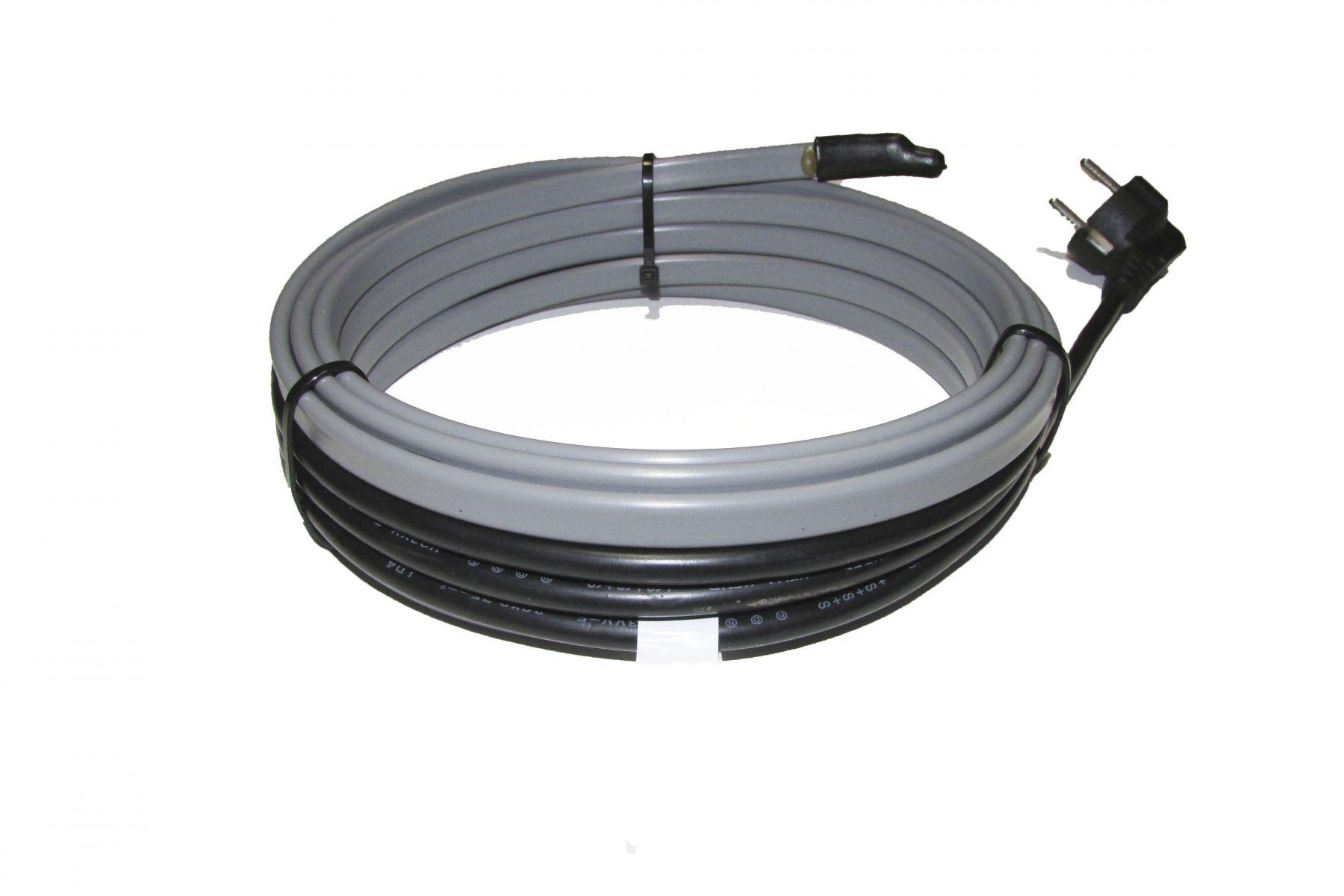 Применение саморегулирующегося греющего кабеля для обогрева труб