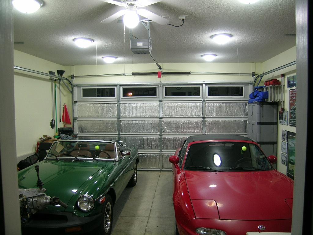 Освещение в гараже своими руками — просто!