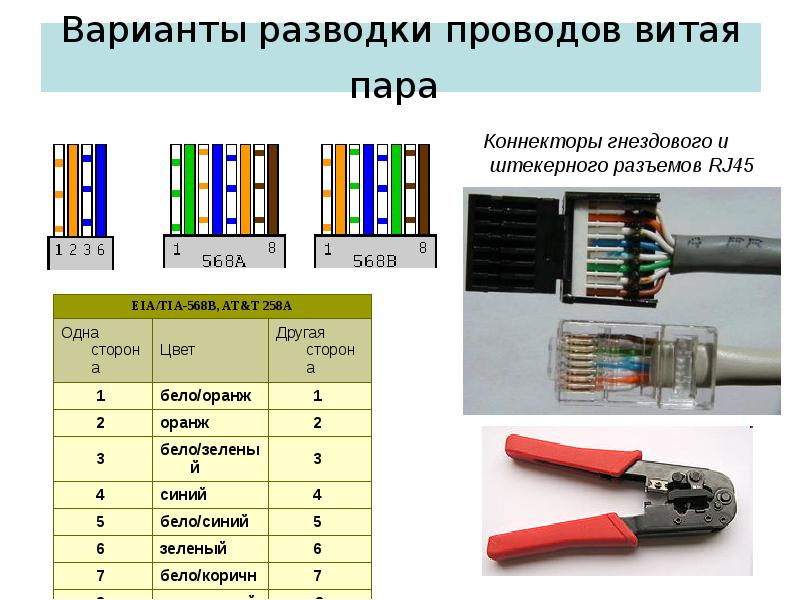 Выбираем кабели и разъемы для компьютерных сетей и телефонии