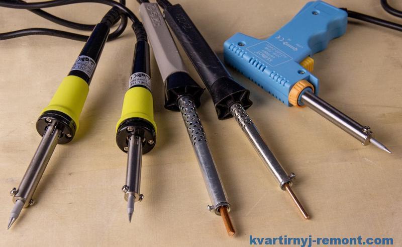 Как отремонтировать электропаяльник