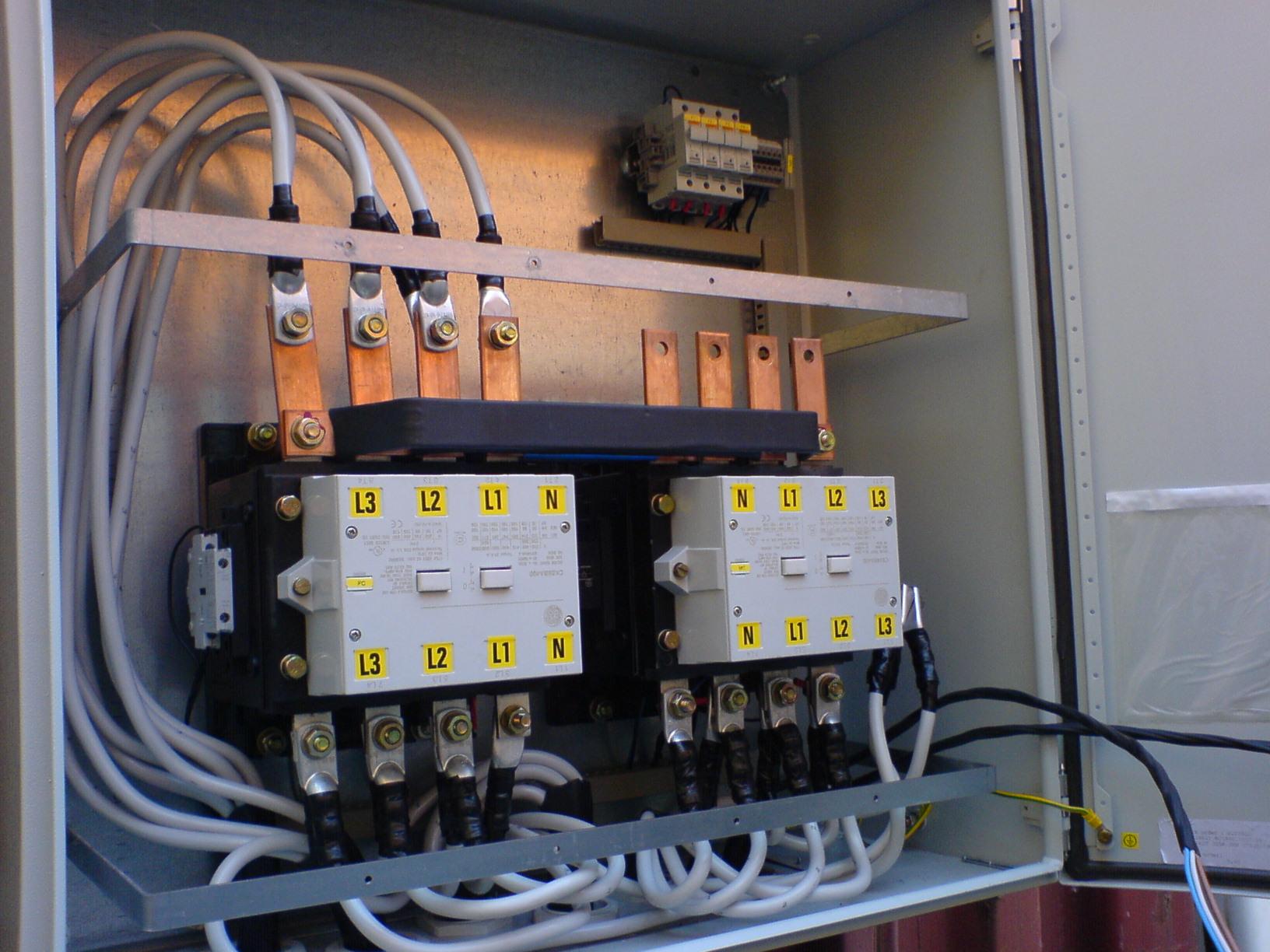 Схема подключения авр на контакторах. реле контроля фаз. часть 2.