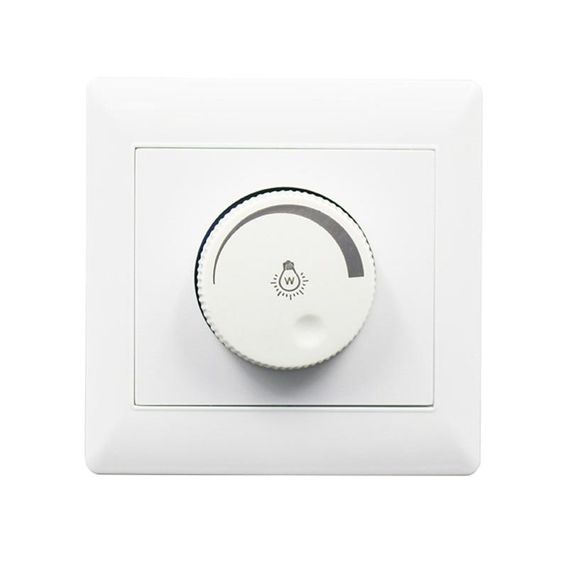 Особенности выключателей с регулятором яркости света