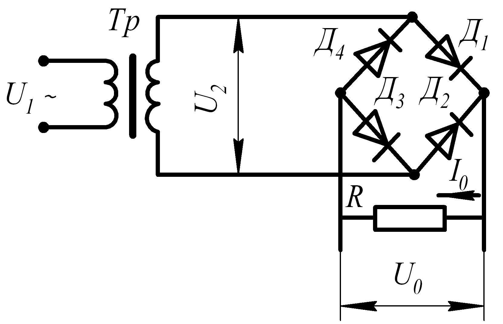 Как устроен однополупериодный выпрямитель и где применяется