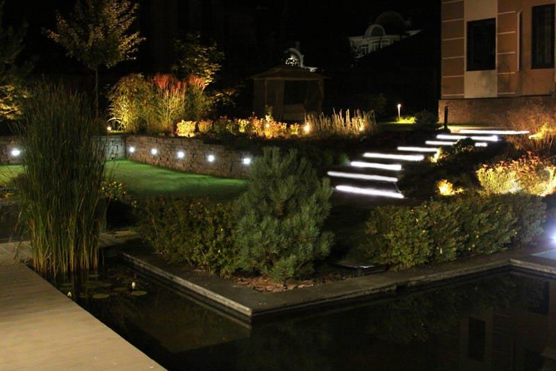Освещение участка своими руками — интересные идеи как эффективно и красиво осветить ваш сад своими руками!