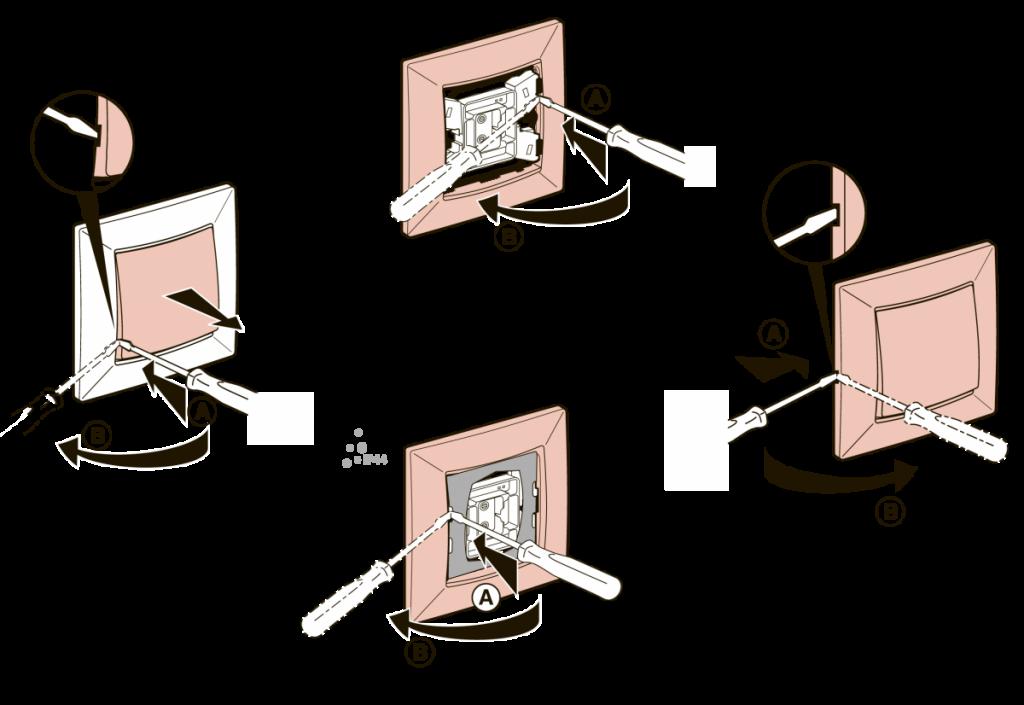 Как разобрать выключатель света: подготовка устройства к ремонту