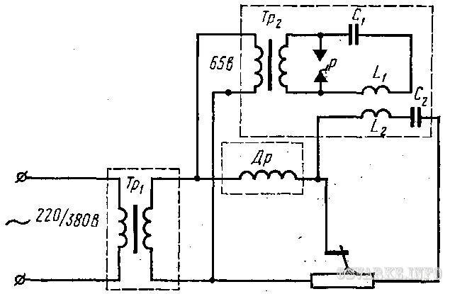 Осциллятор для инвертора и сварки своими руками