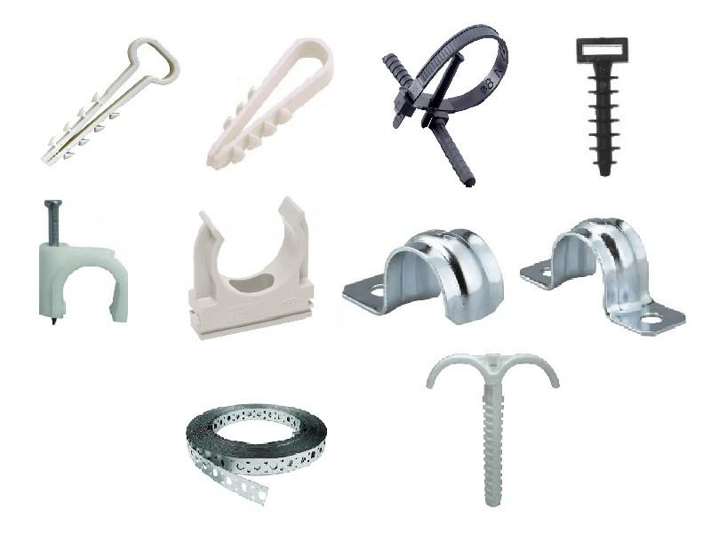 8 способов крепления кабеля к стене