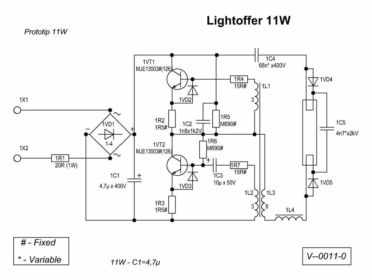 Как сделать самодельный блок питания из энергосберегающего типа ламп