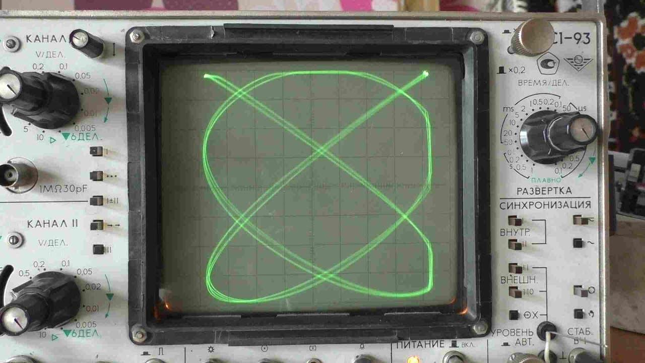 Работа с осциллографом