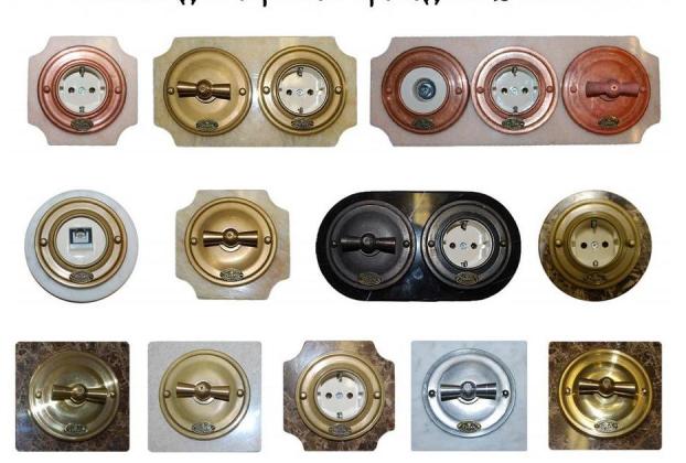 Ретро проводка — дизайнерский прием который имеет массу преимуществ