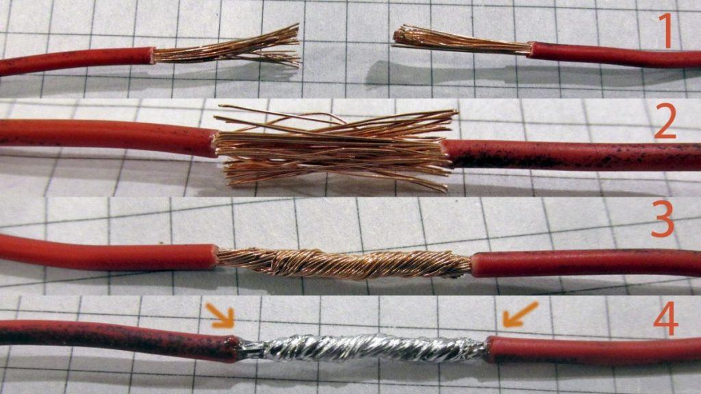 Как правильно соединить антенный кабель