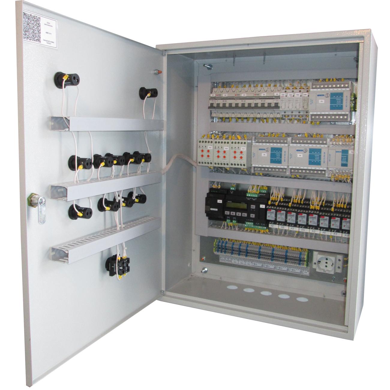 Принципиальная электрическая схема авр