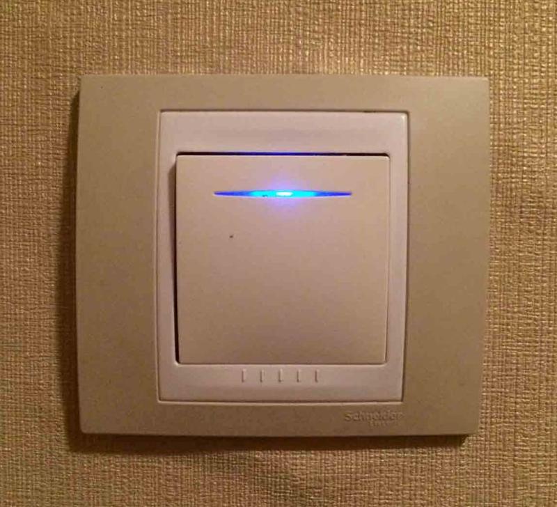 Схема подключения выключателя с подсветкой – советы электриков