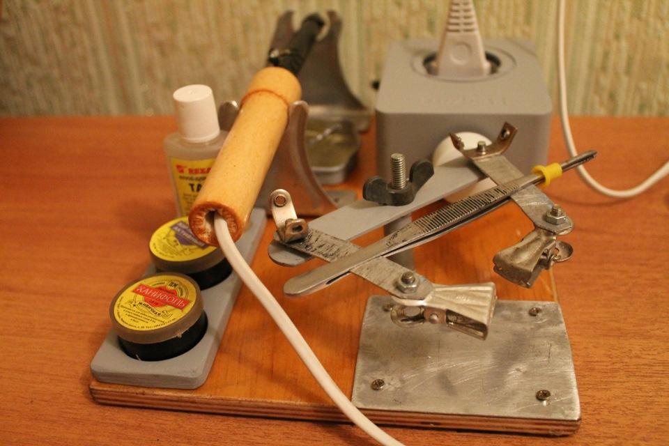 Как сделать паяльник своими руками в домашних условиях