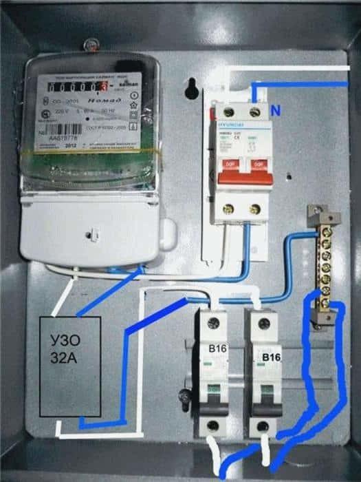 Как производится расчет автоматического выключателя