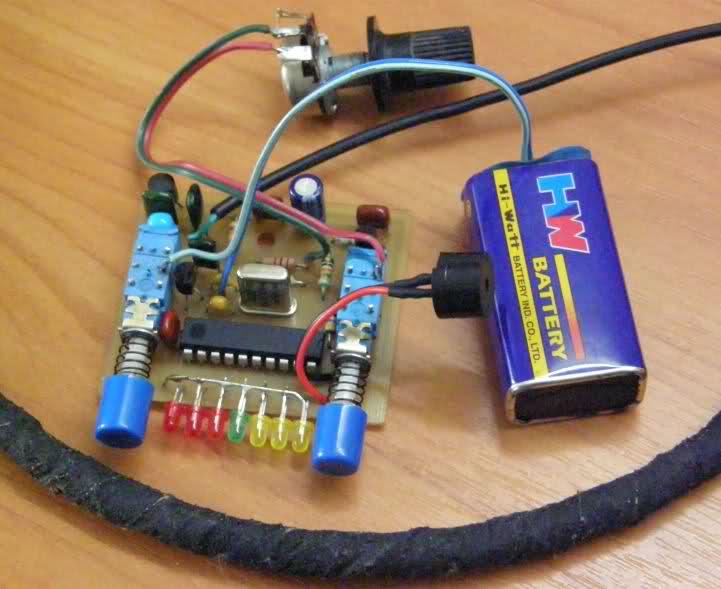 Простой металлоискатель на микросхемах