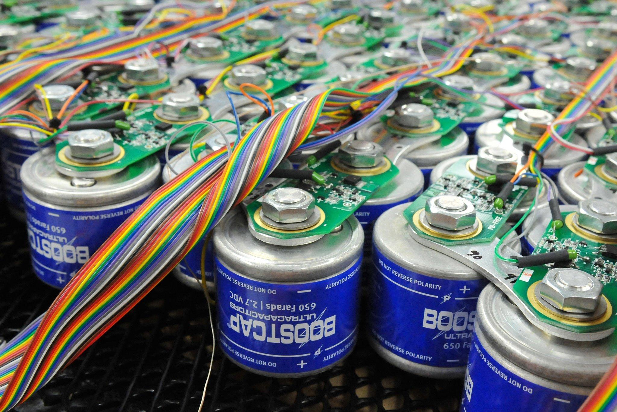 Ионистор вместо аккумулятора