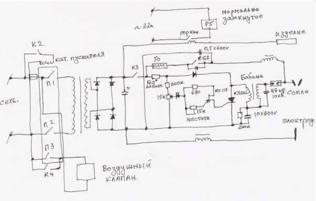 Осциллятор для инвертора