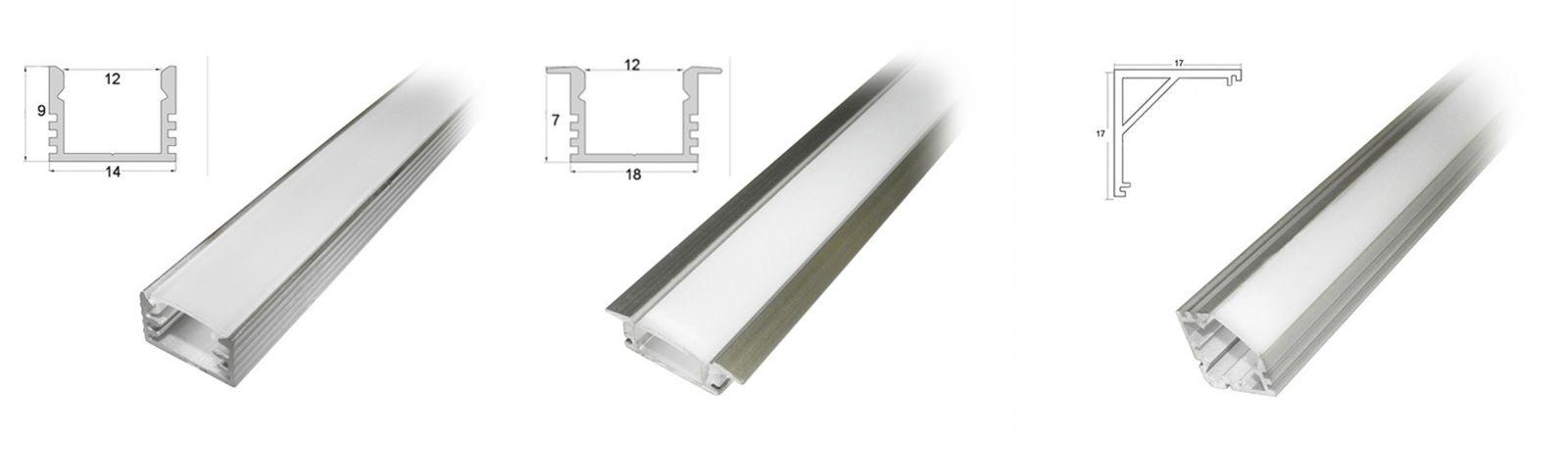 Как выбрать профиль для светодиодной ленты: алюминиевый или пластиковый