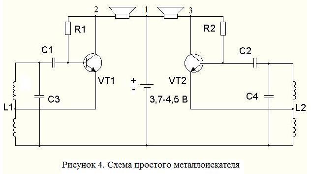 Изготовление металлоискателя своими руками