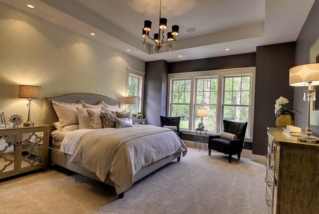 Правила и способы освещения спальни