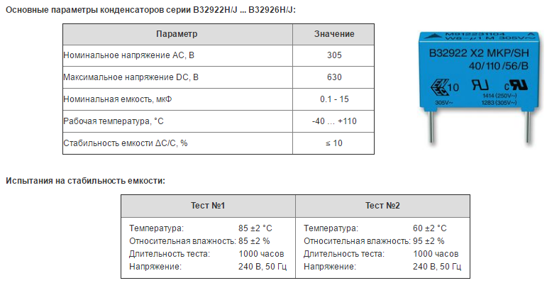 Особенности smd конденсаторов