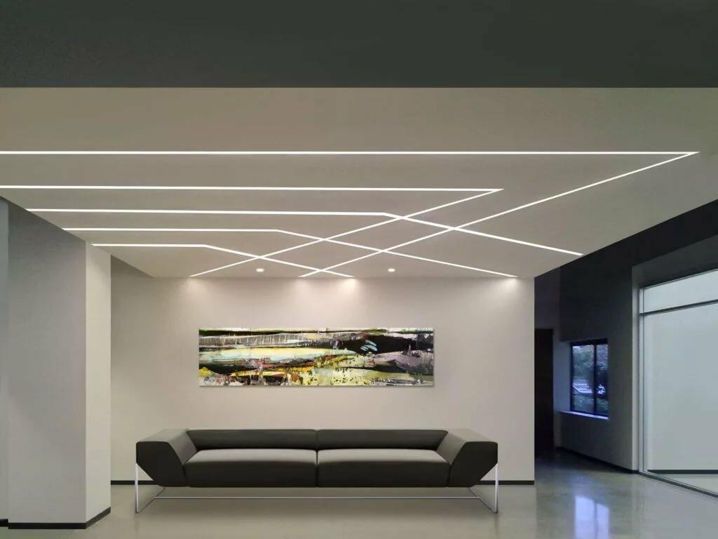 Освещение потолка – особенности размещения светильников и расчет светового потока (115 фото)