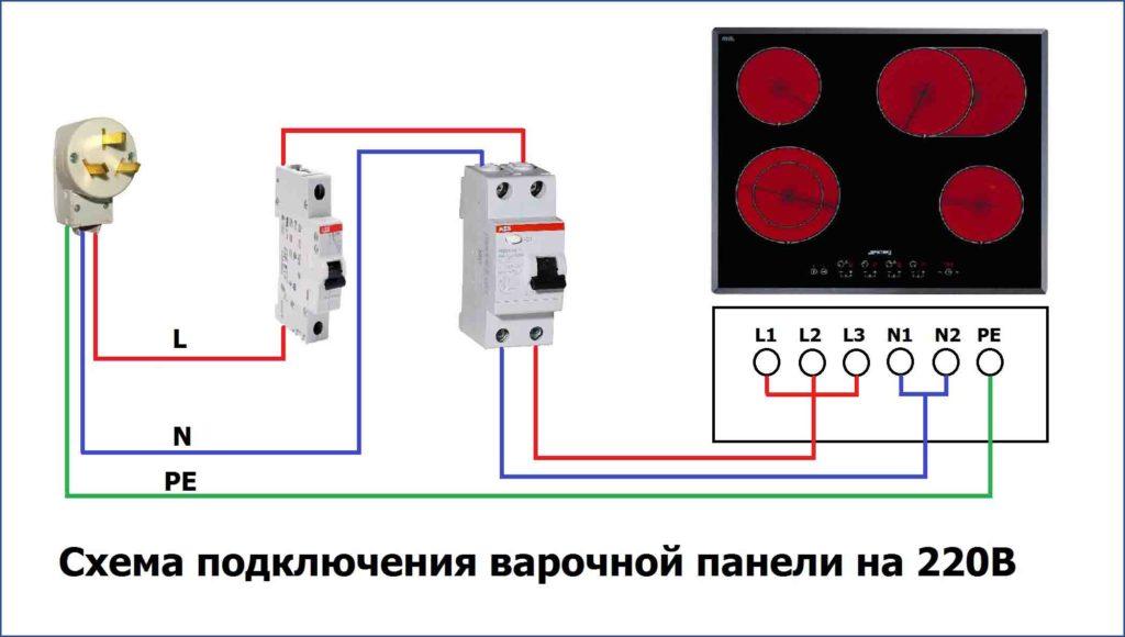 Кабель для электроплиты