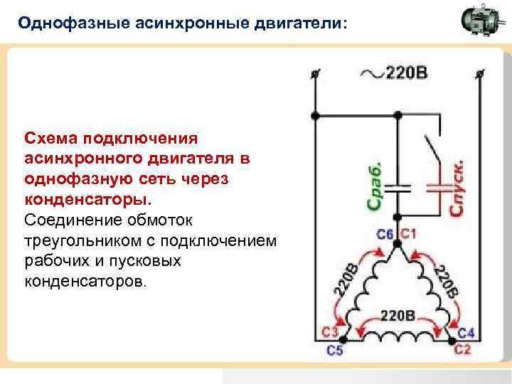 Конденсатор для пуска электродвигателя