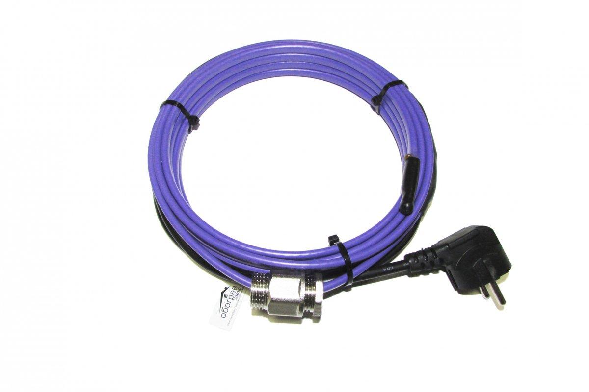 Как устроен саморегулирующийся греющий кабель?