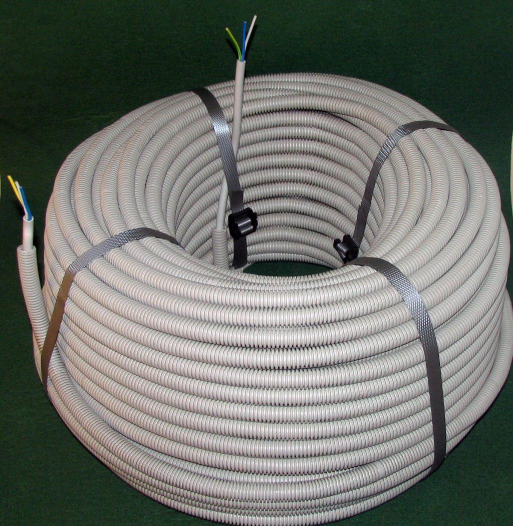 Гофра для электропроводки — как выбрать гофрорукав для кабеля?
