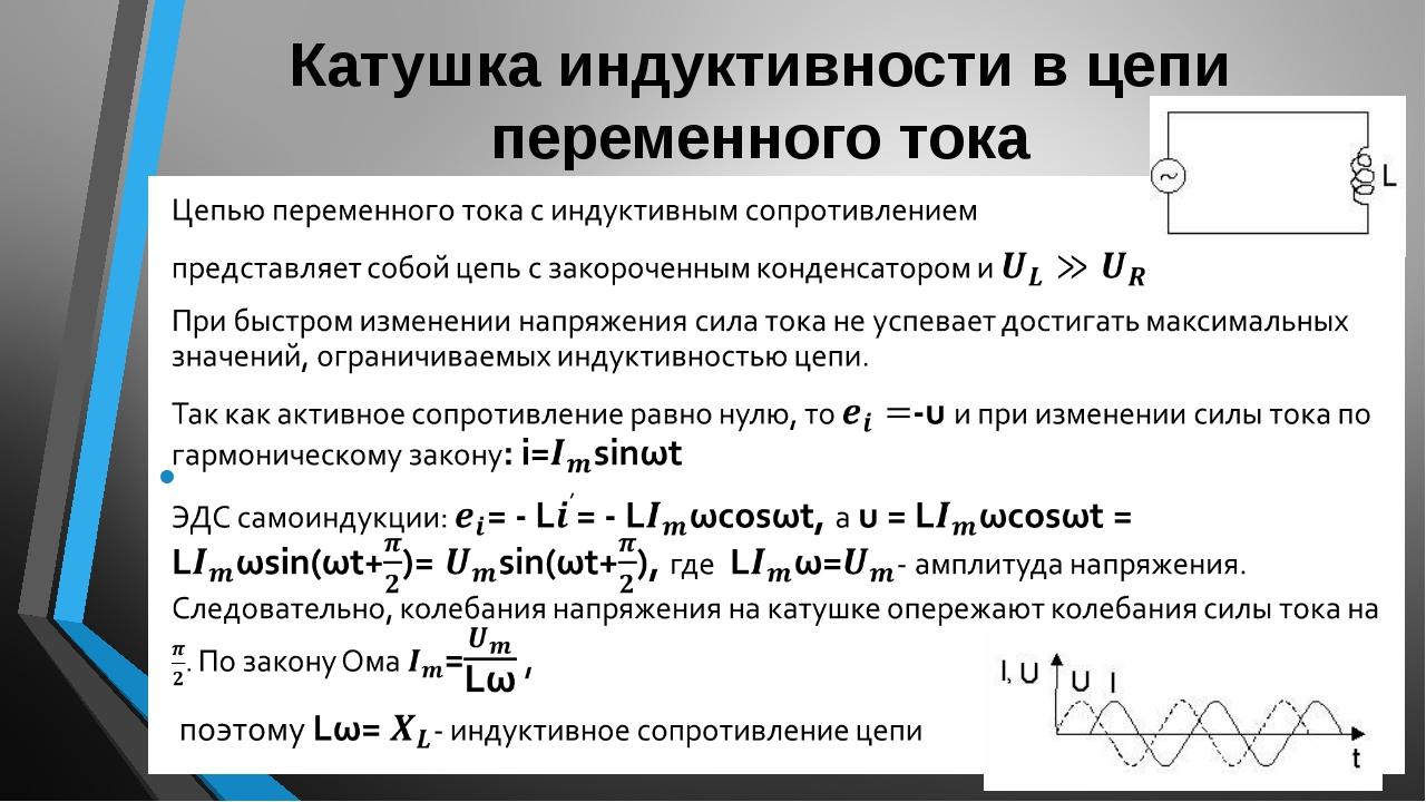 Индуктивность проводника