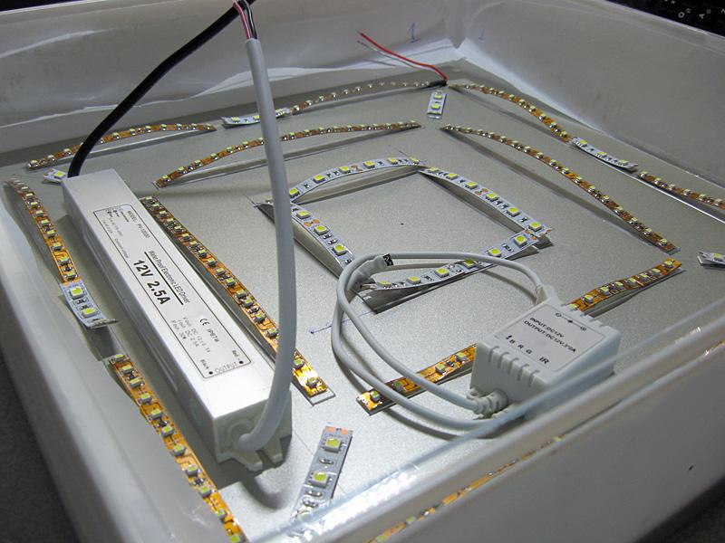 Варианты создания светодиодных ламп на 220в своими руками