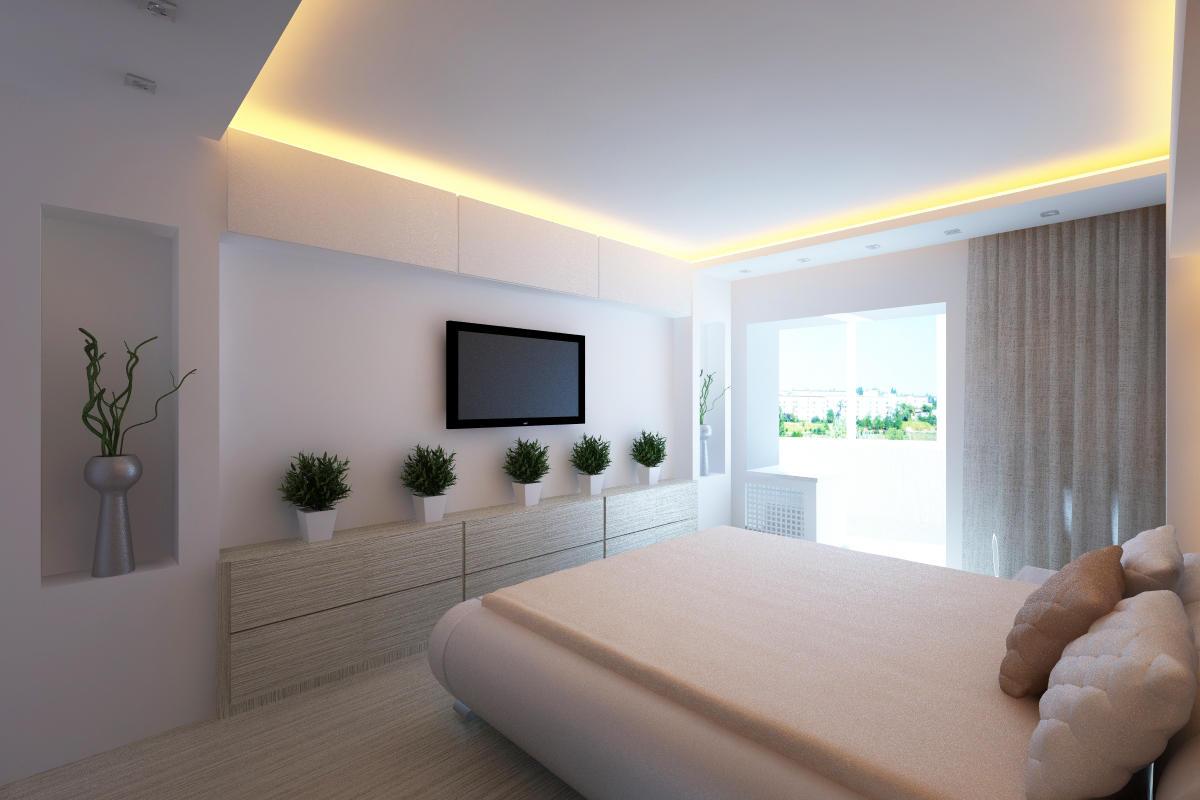 Подсветка потолка светодиодной лентой: какую выбрать и как установить?