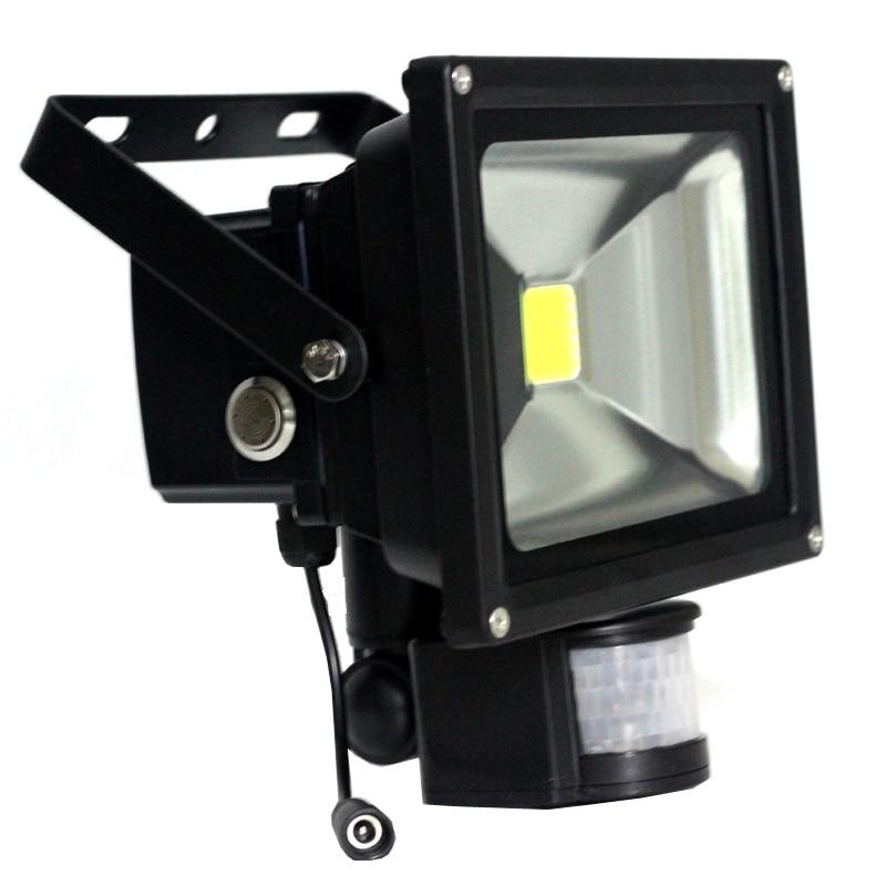 Светодиодный прожектор с датчиком движения для улицы