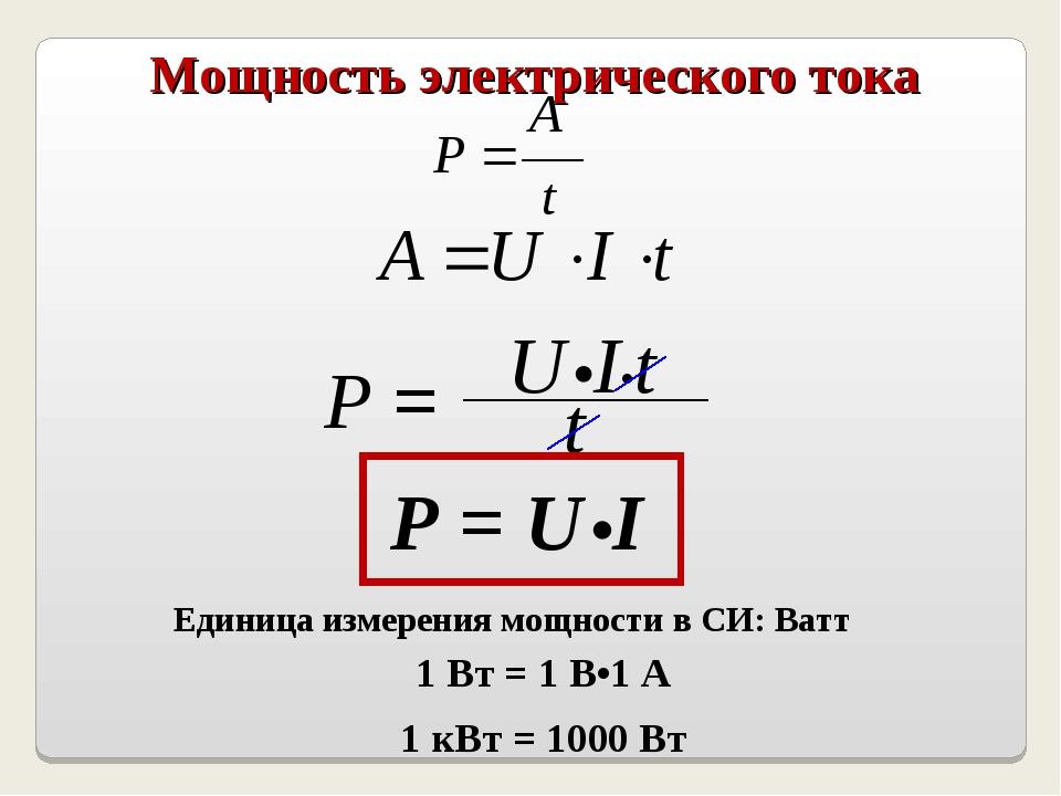 Ватт — что это за единица вычисления и ее обозначение