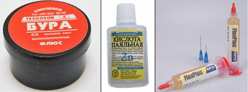 Выбор флюса для пайки bga микросхем