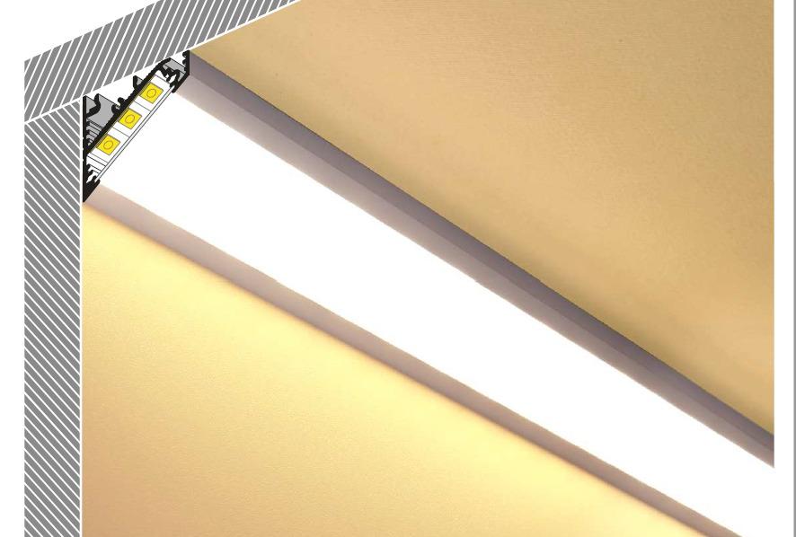 Профиль для светодиодной ленты – назначение и сфера применения