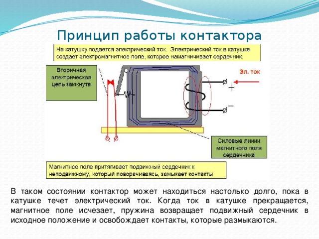 Подключение пускателя магнитного